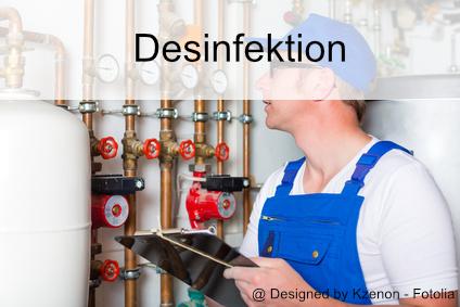 Desinfektion Legionellen und Trinkwasser